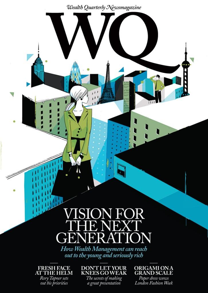 Cover of Wealth Quarterly (Coutts), Pietari Posti for Speak Media