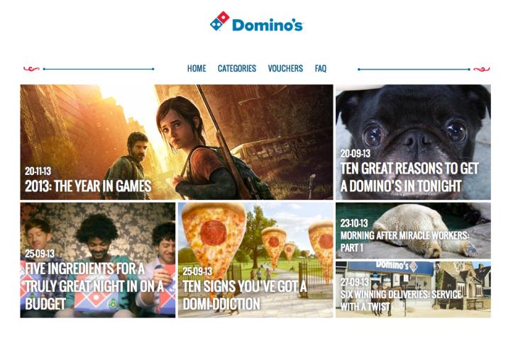 domino's content hub