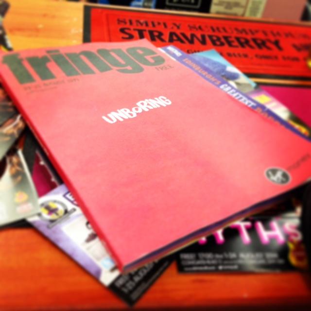 Fringe guide